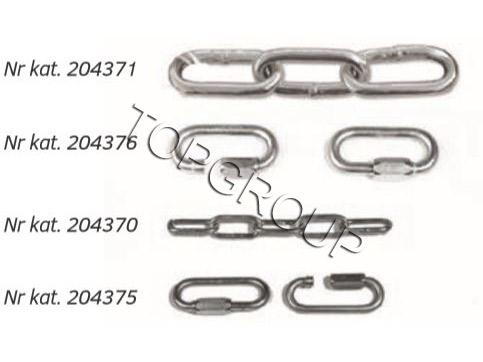 Łańcuchy do słupków