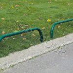 barierki ochronne uliczne niskie