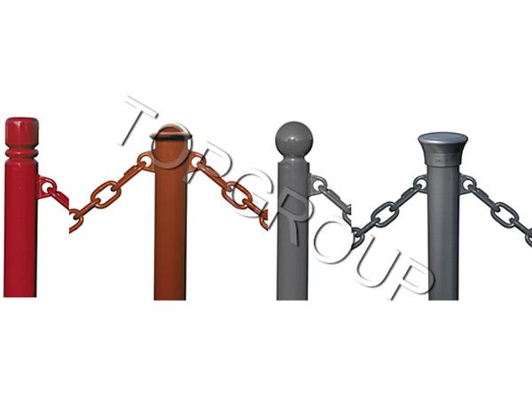 Słupki łańcuchowe stałe