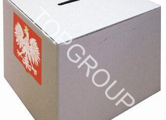 Urny wyborcze kartonowe małe i duże – producent  TopArchitektura.pl