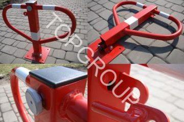 Blokady parkingowe składane RED – TopArchitektura.pl