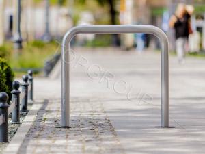 stojak rowerowy typ u menu