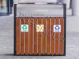 Kosz do segregacji odpadów Narcyz menu