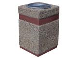 Kosz betonowy kwadratowy 40l 1-46 menu