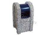 Kosz betonowy z daszkiem szafka 1-23 menu